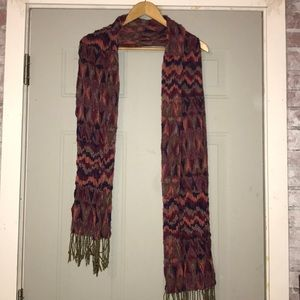 Purple/pink scarf